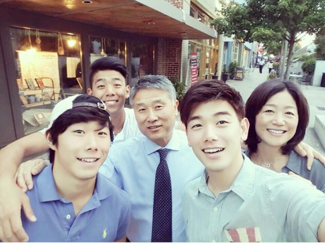 Eric Nam Family