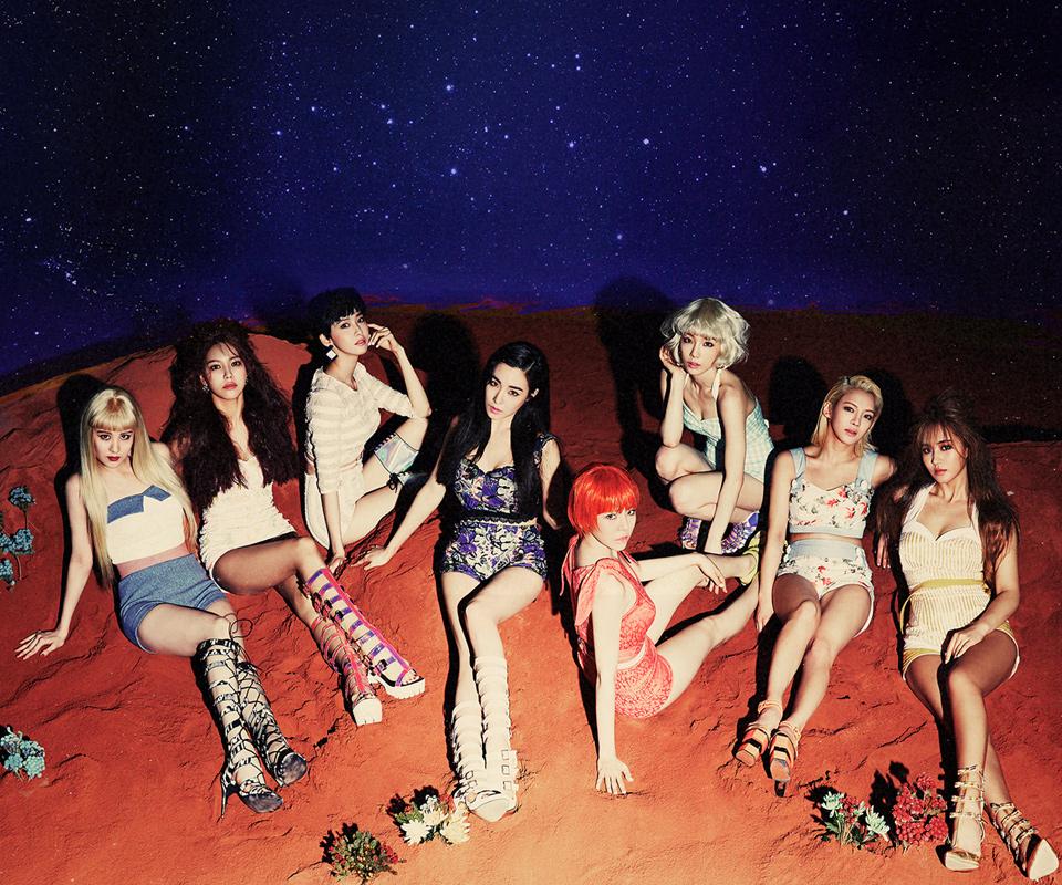 Girls Generation Lion heart 2nd set all