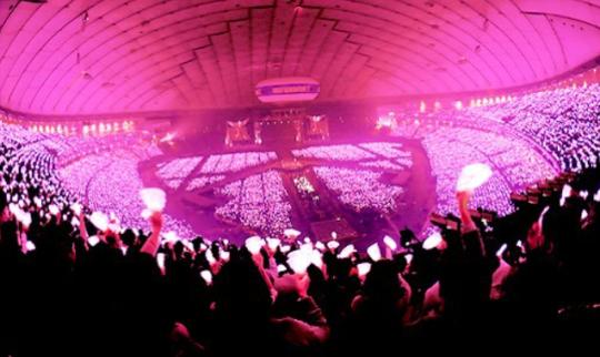 Girls Generation Pink Lights