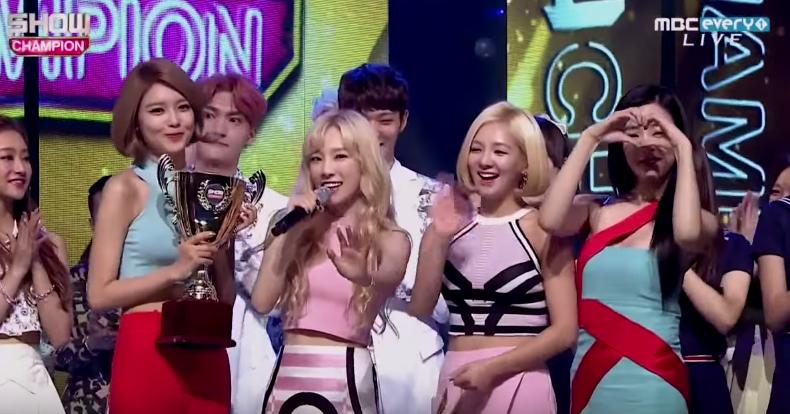 Girls' Generation Show Champion august 26