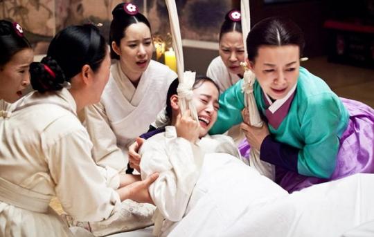 Jang Ok Jung birth scene