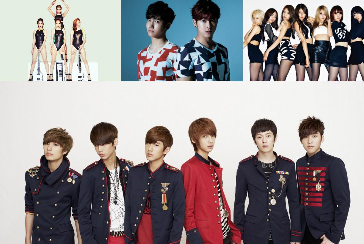 Kpop reinvented artists main
