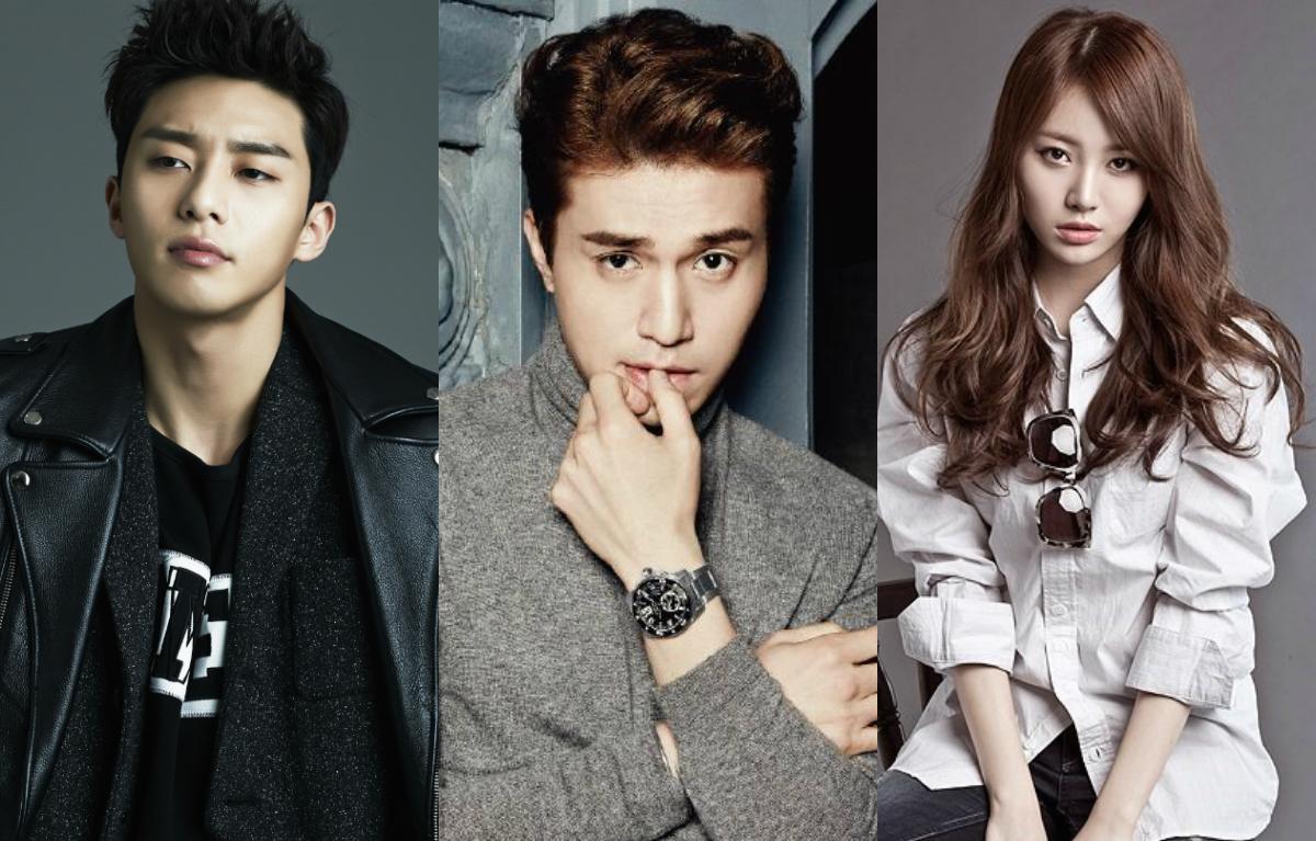 Lee Dong Wook Park Seo Joon Yura