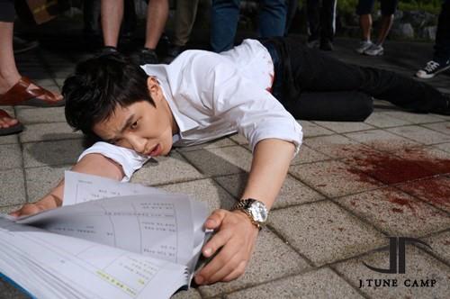 Lee Joon Drama Stab Scene