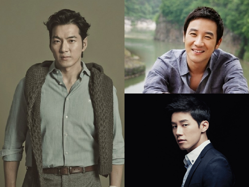 Song Il Gook Uhm Tae Woong Kim Moo Yeol Male Actors