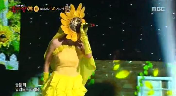 king of mask singer sunflower