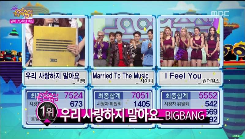 music core august 15 2015 bigbang win