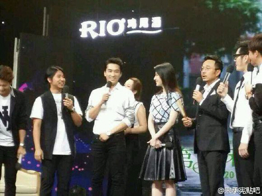 Song Seung Hun and Liu Yifei Make First Television Appearance After Confirming Relationship