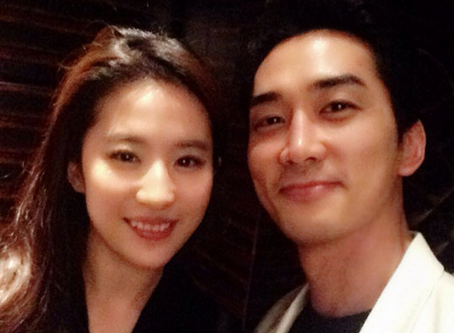 Liu Yifei Posts Message on Weibo After News Breaks About Her Relationship with Song Seung Hun