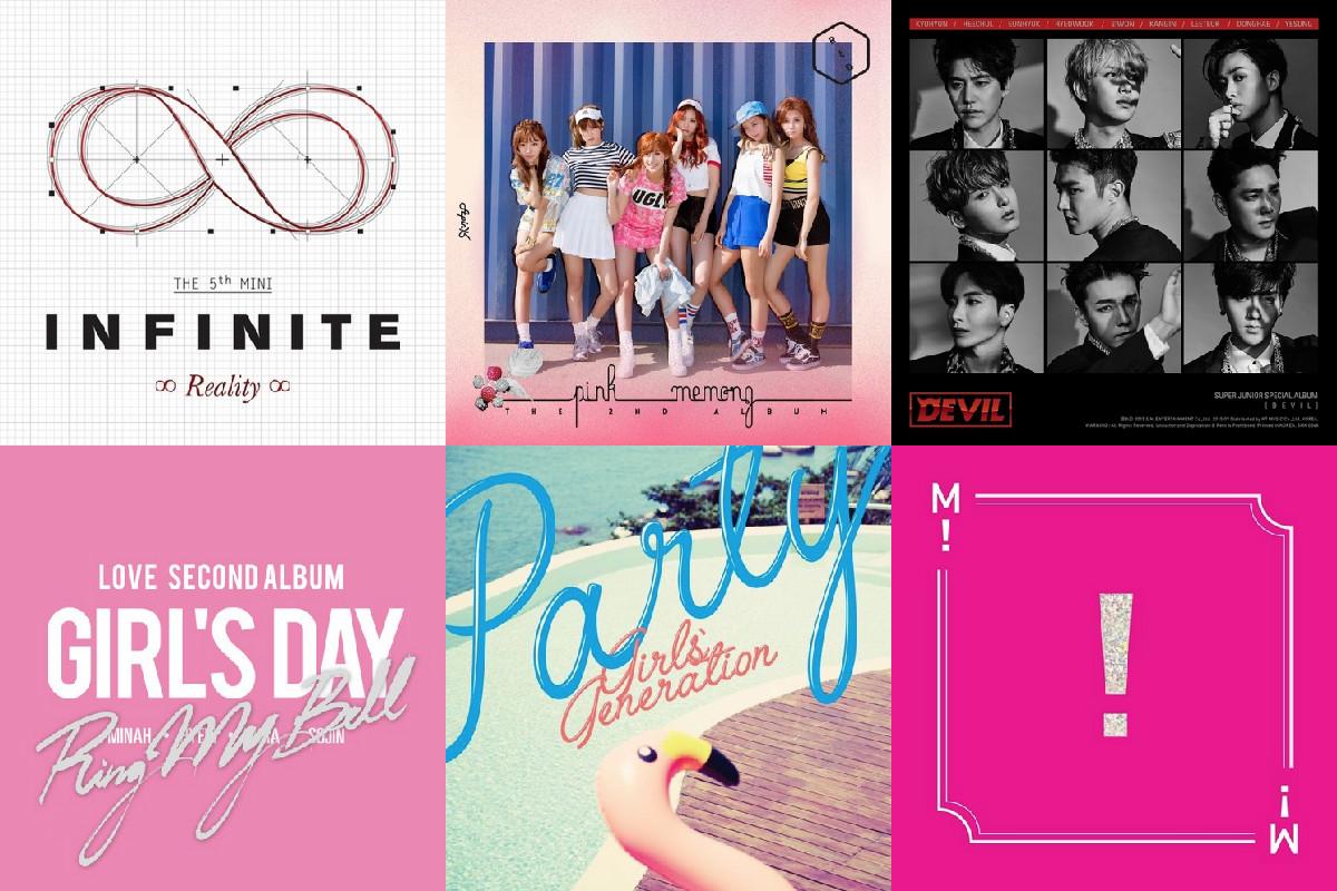 soompi Weekly K-Pop Music Chart 2015 – August Week 2