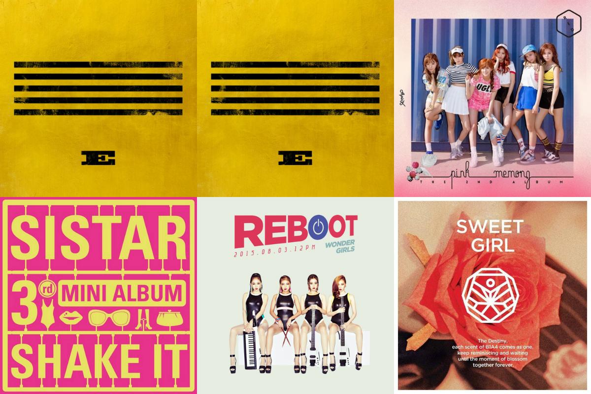 soompi Weekly K-Pop Music Chart 2015 – August Week 5