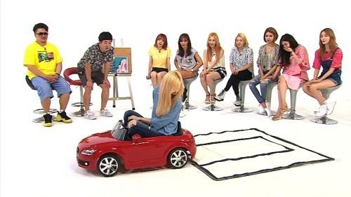 taeyeon parking