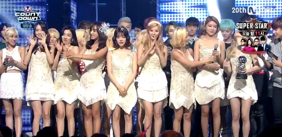 Girls Generation win