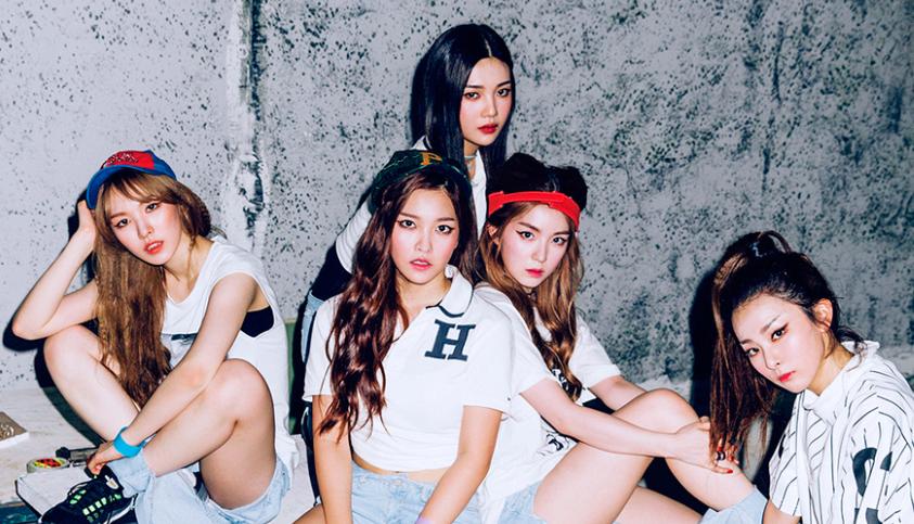 Red Velvet Cropped