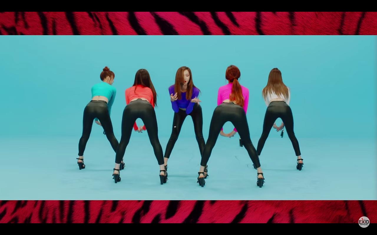 EXID kpop booty