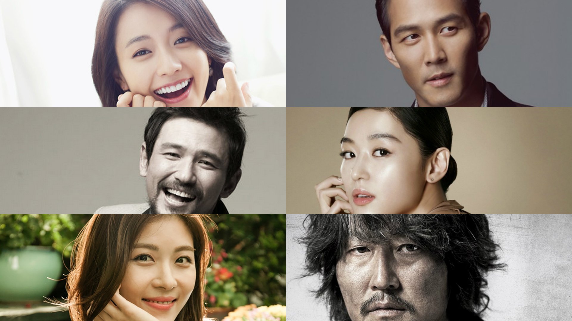 Top Korean Actors Collage