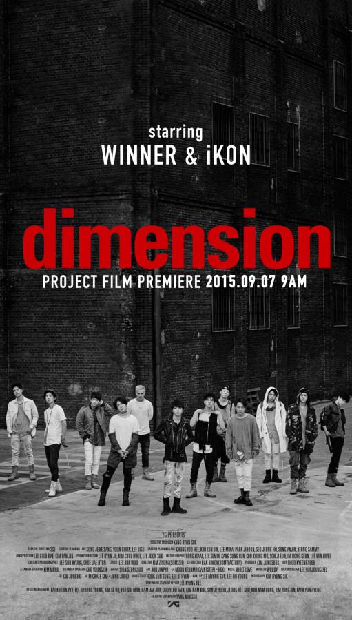 WINNER iKON dimension project film premiere