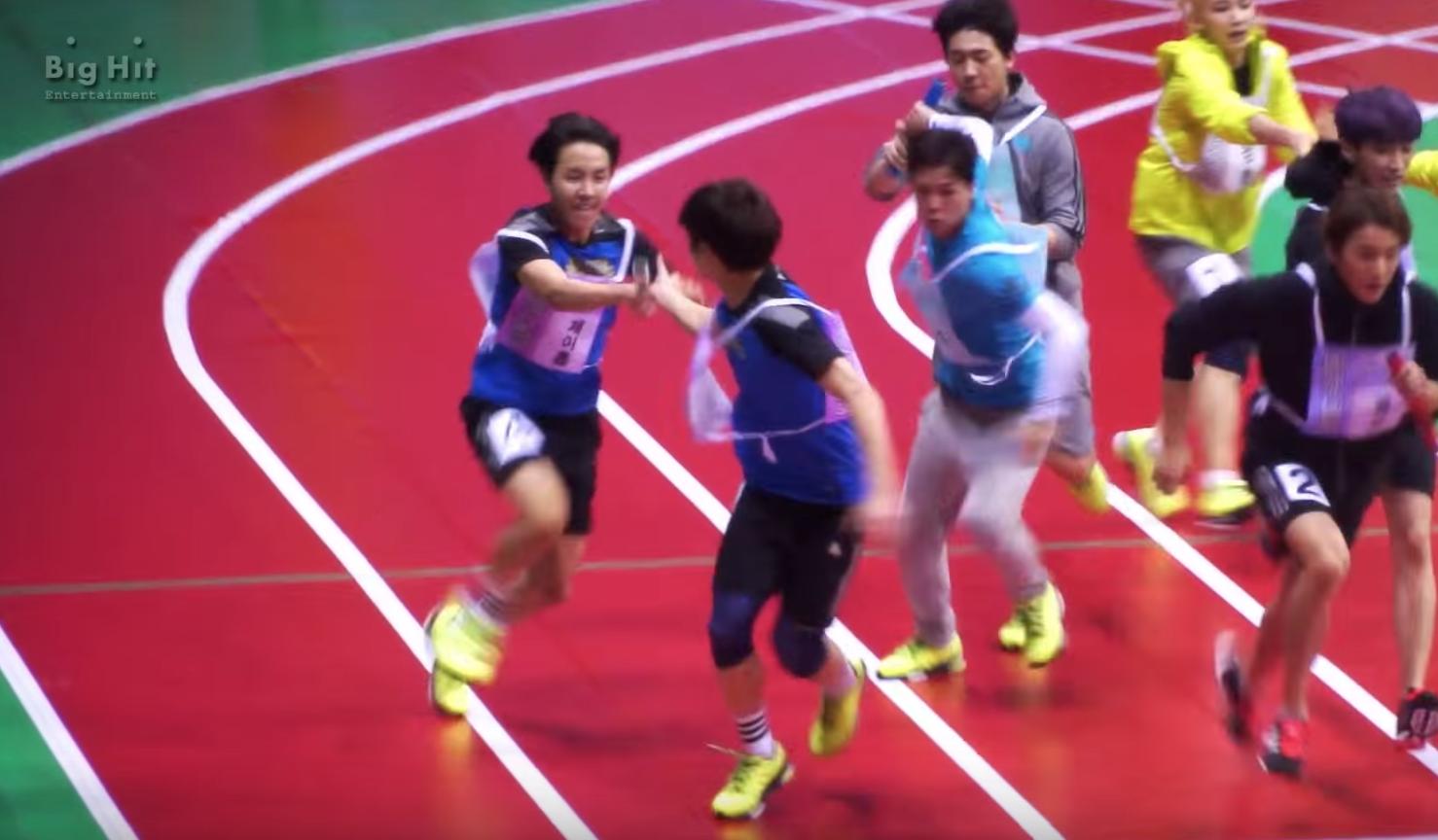 bts 400m race