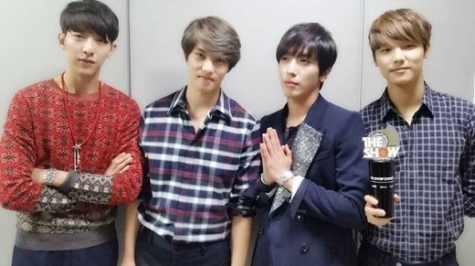 cnblue the show