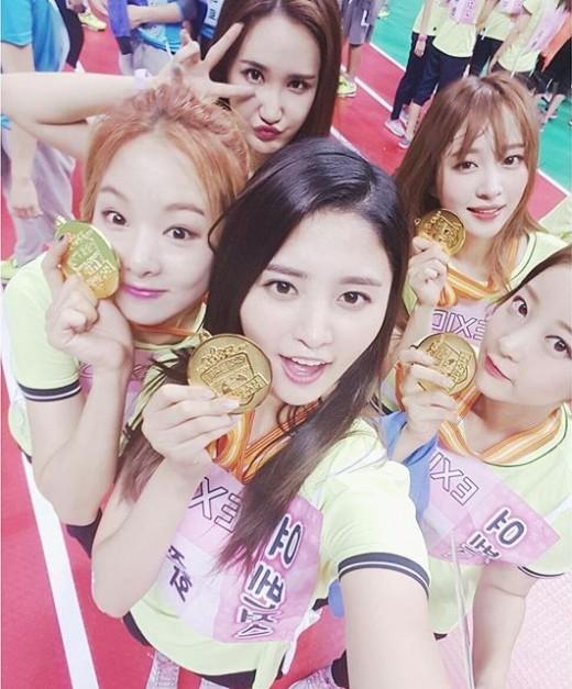exid 400m relay win
