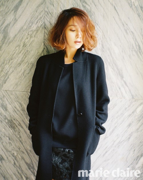lee min jung - marie claire 1