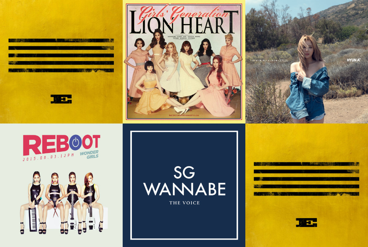 soompi Weekly K-Pop Music Chart 2015 – September Week 1