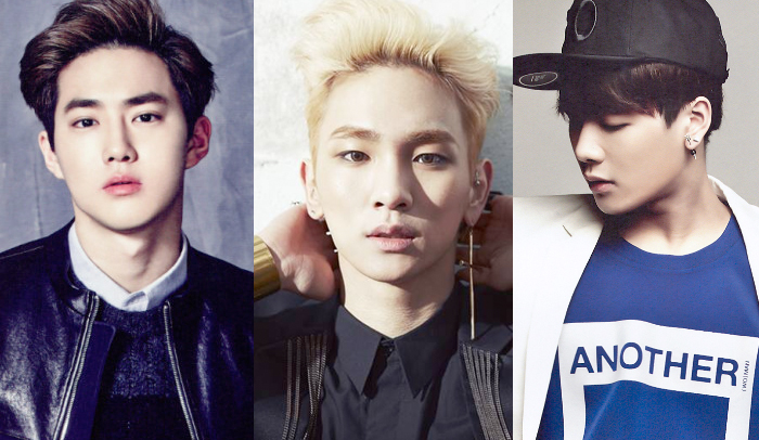 """EXO's Suho, SHINee's Key, GOT7′s Jackson and More to Join """"Star King"""" Panel"""
