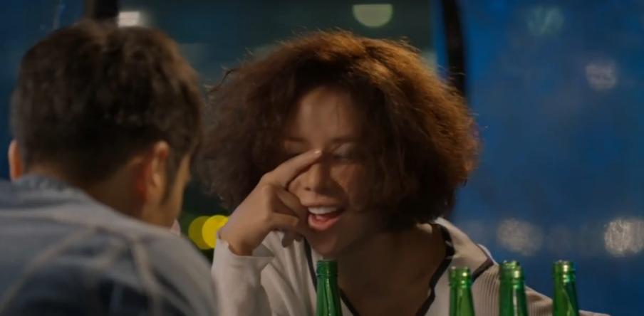 Hwang Jung Eum drunk