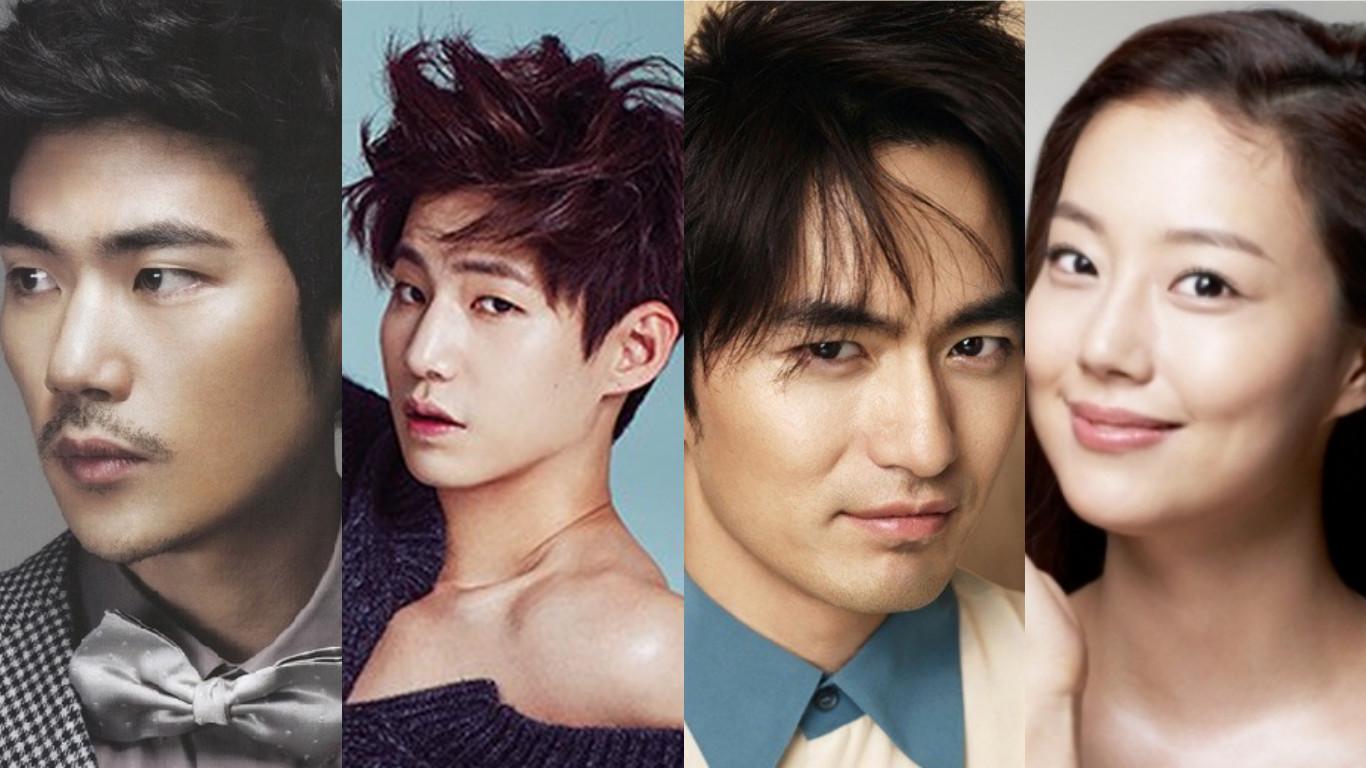 Kim Kang Woo Song Jae Rim Lee Jin Wook Moon Chae Won