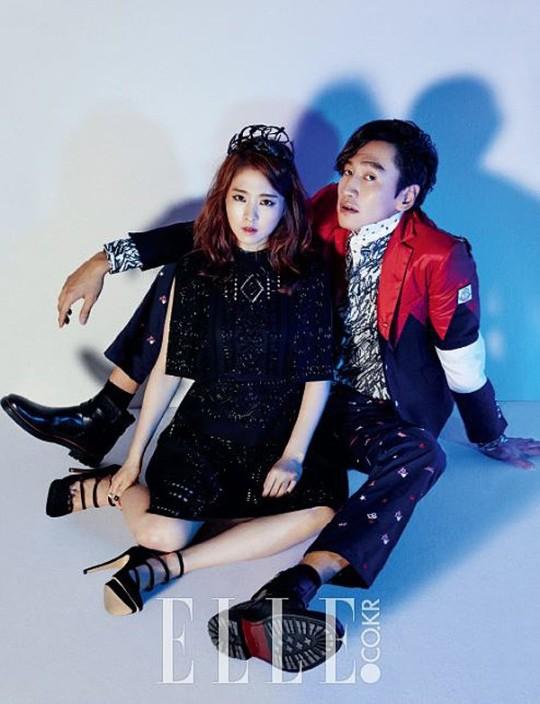 Park Bo Young Lee Kwang Soo