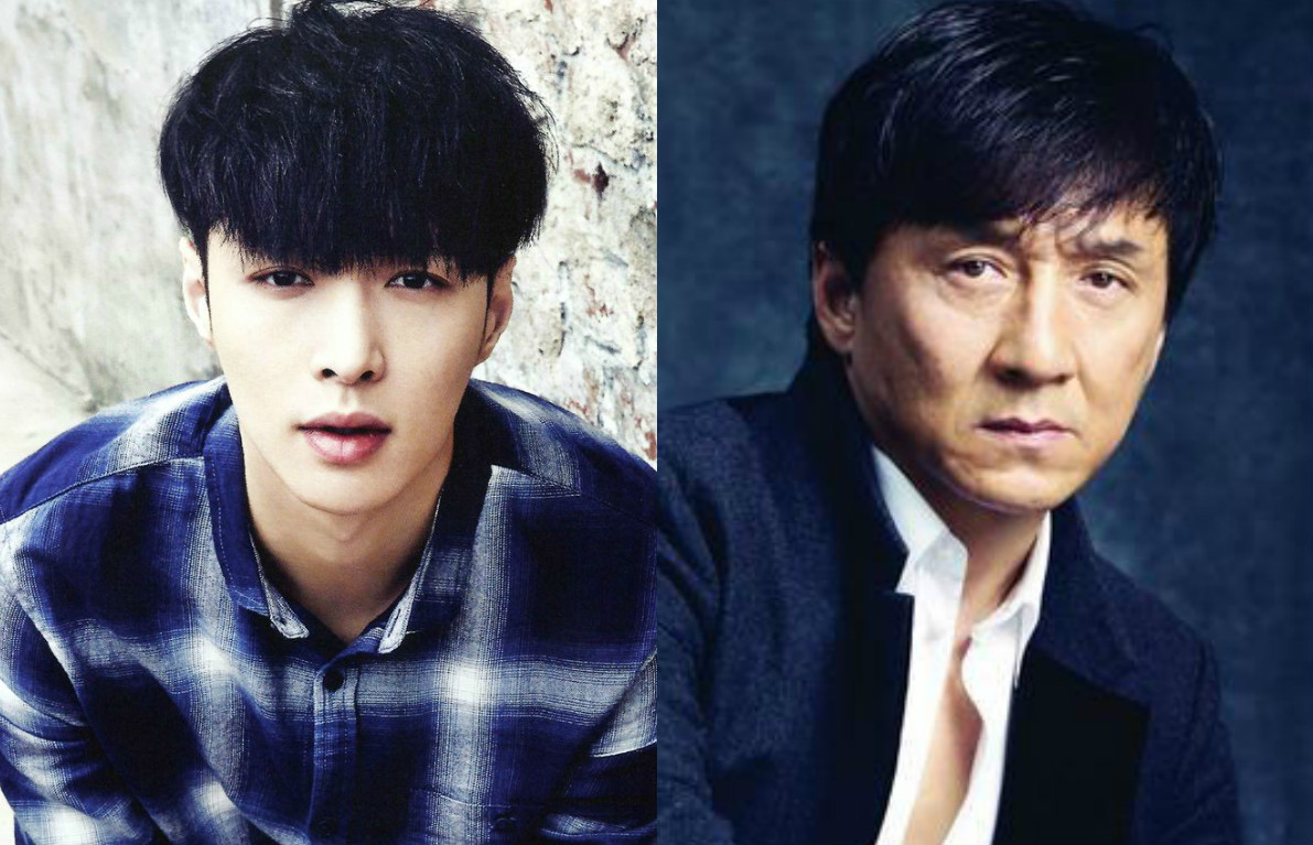 exo lay jackie chan