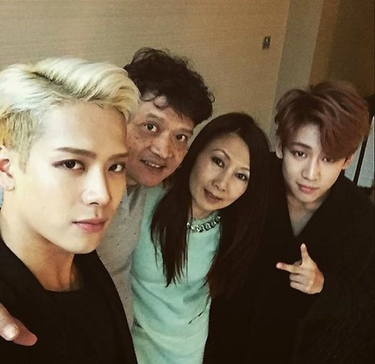 GOT7's Jackson Reunites With His Parents During China Fan ...