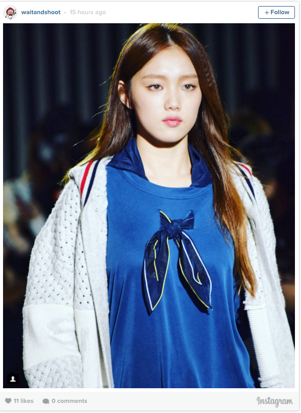 lee sung kyung-runway1