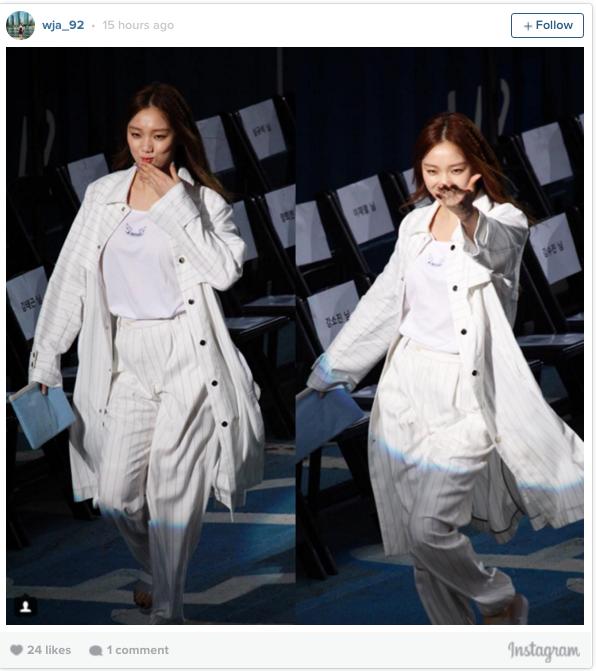 lee sung kyung-runway4
