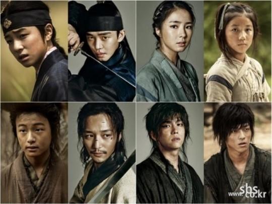six flying dragons child actors