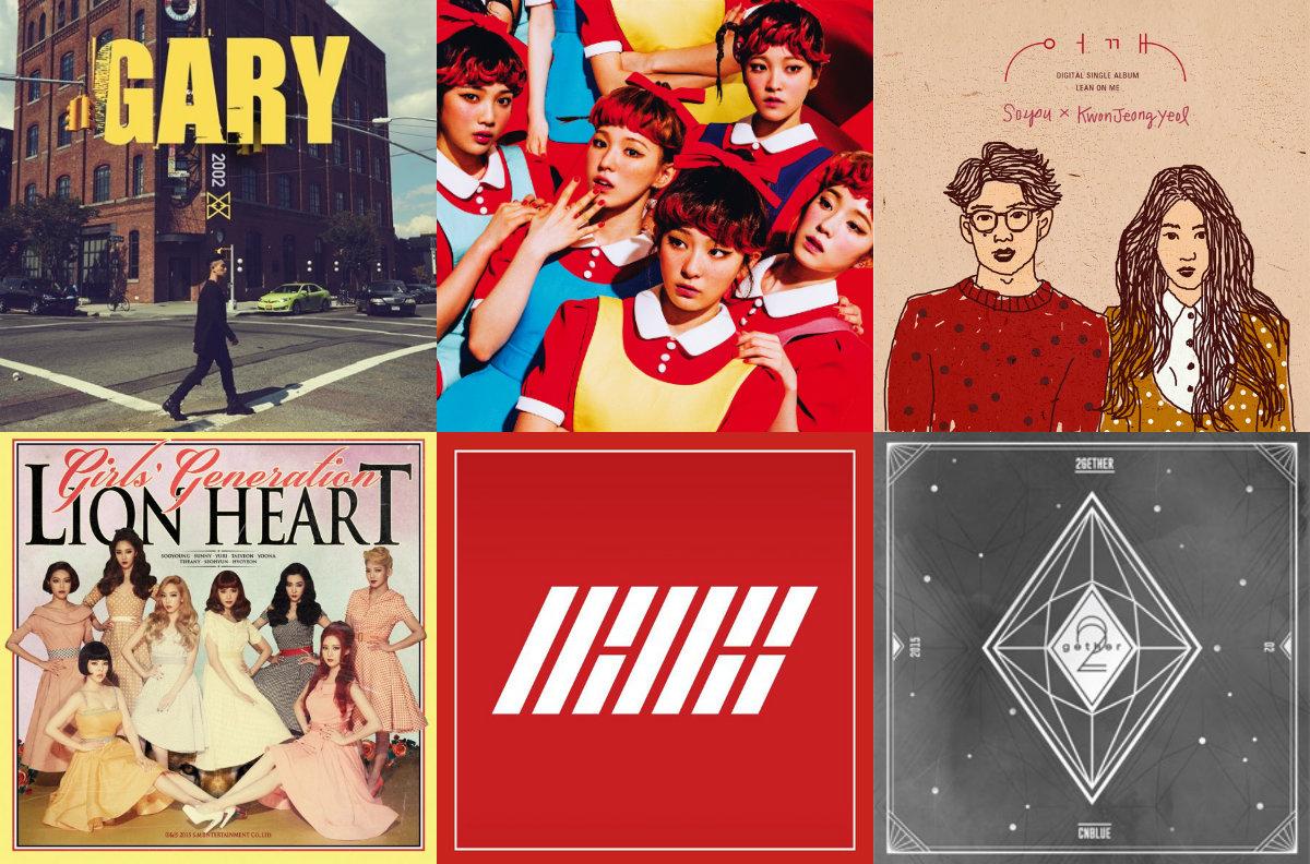 soompi Weekly K-Pop Music Chart 2015 – October Week 2