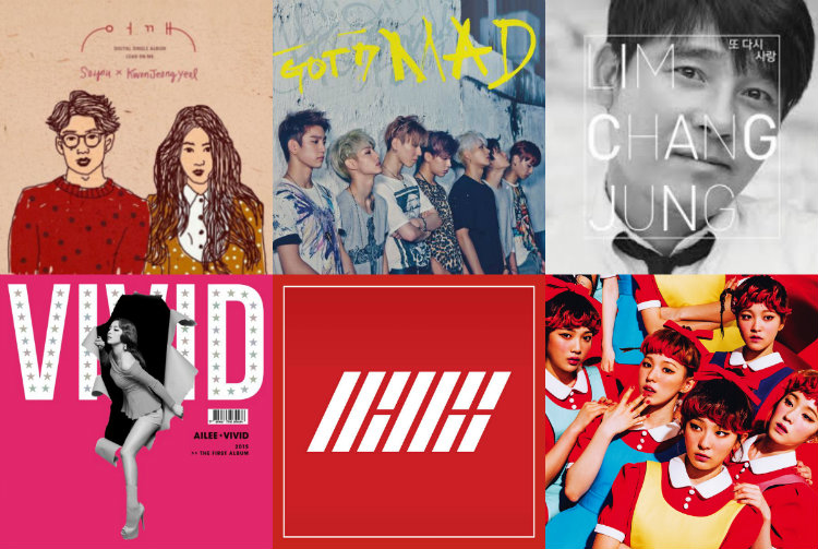 soompi Weekly K-Pop Music Chart 2015 – October Week 3