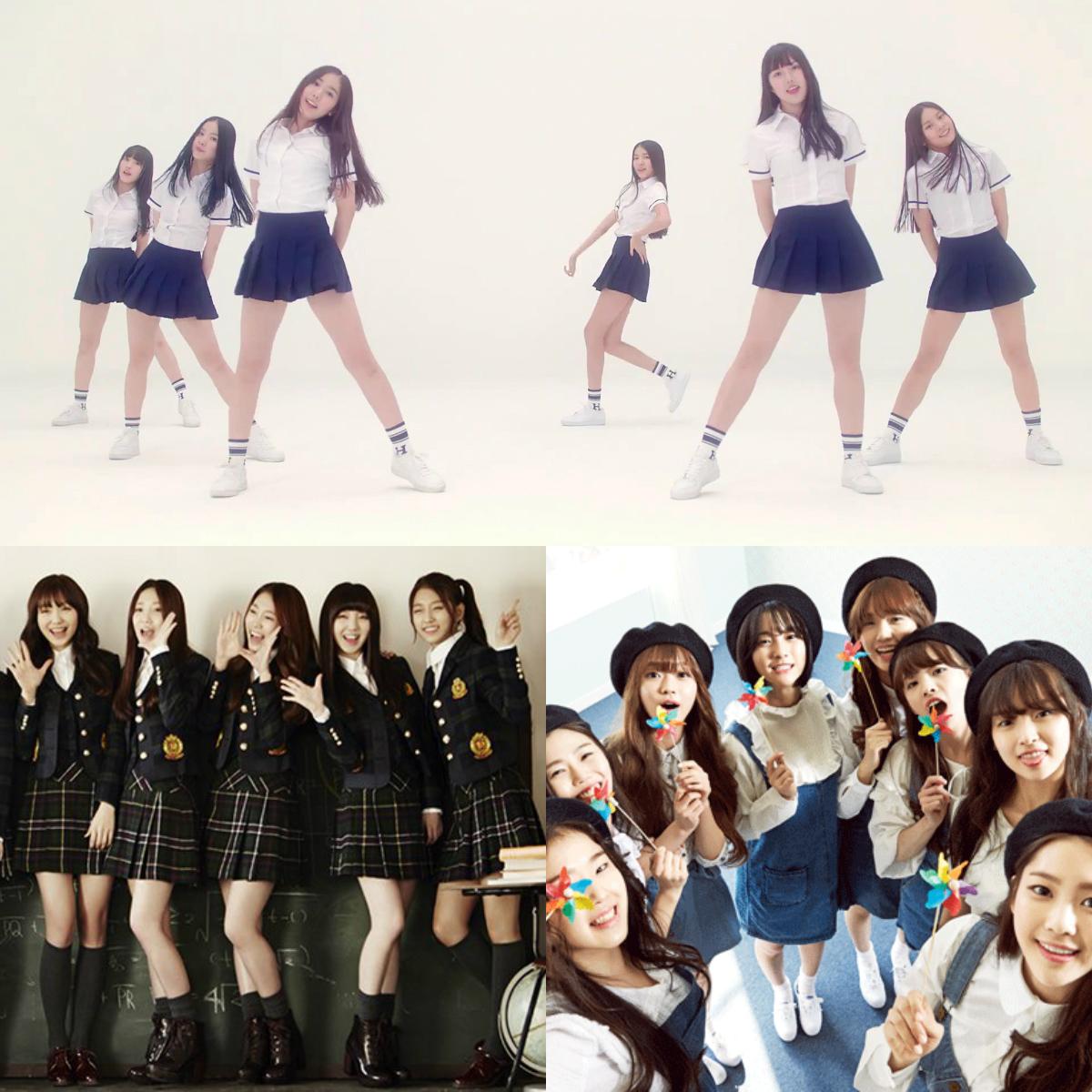 2015 Innocent Look Girl Groups