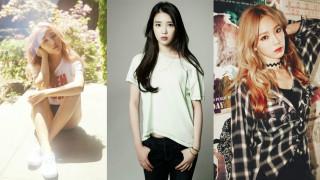 Baek Ah Yeon IU Taeyeon