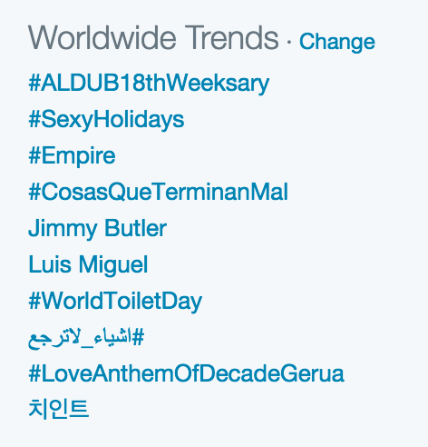 Cheese in the Trap trending