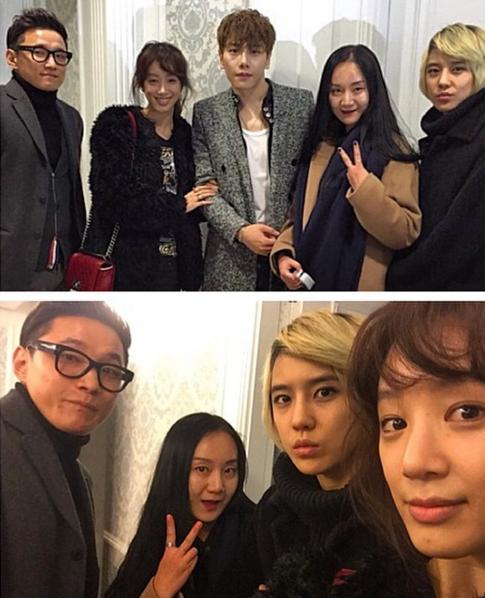 Im Su Mi Park Hyo Shin Jung Ryeo Won