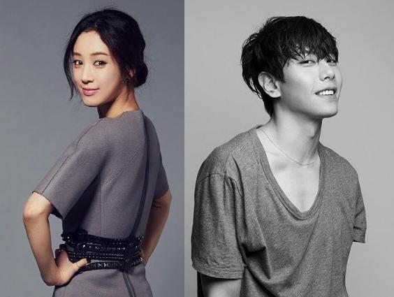 Jung Ryeo Won and Park Hyo Shin