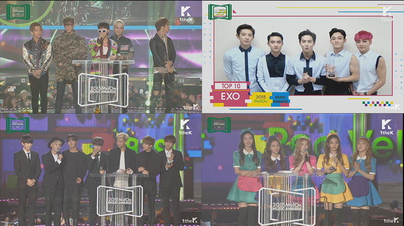 Melon Music Awards 2015 winners