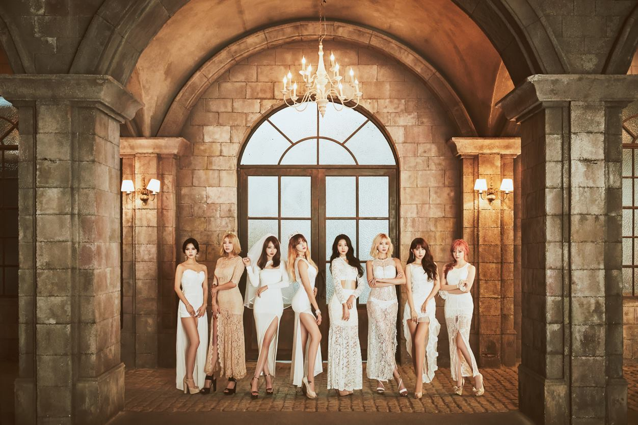 Nine Muses Lost - group