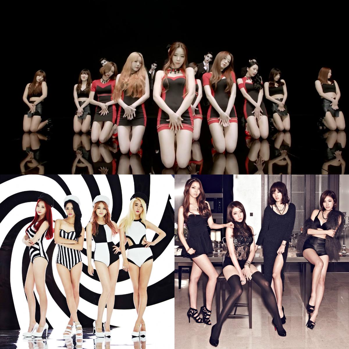 Sexy Concept Girl Groups