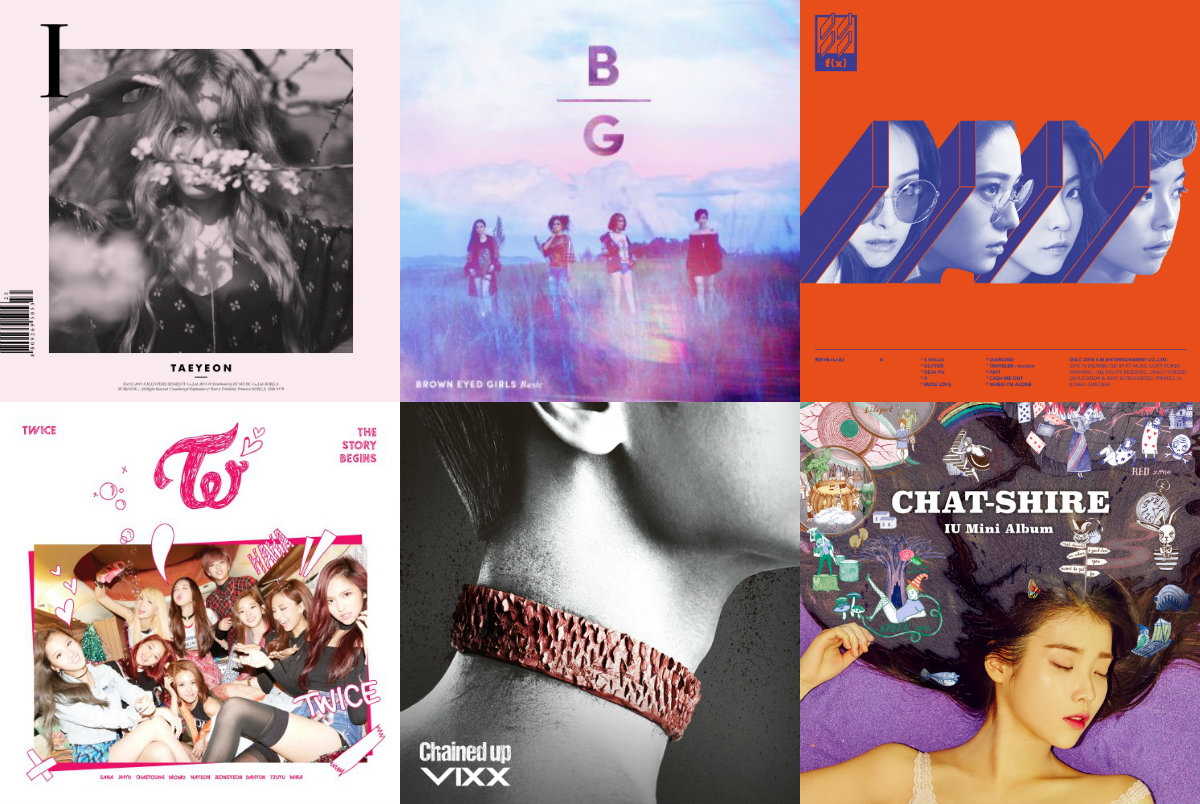 Weekly K-Pop Music Chart 2015 – November Week 4 soompi