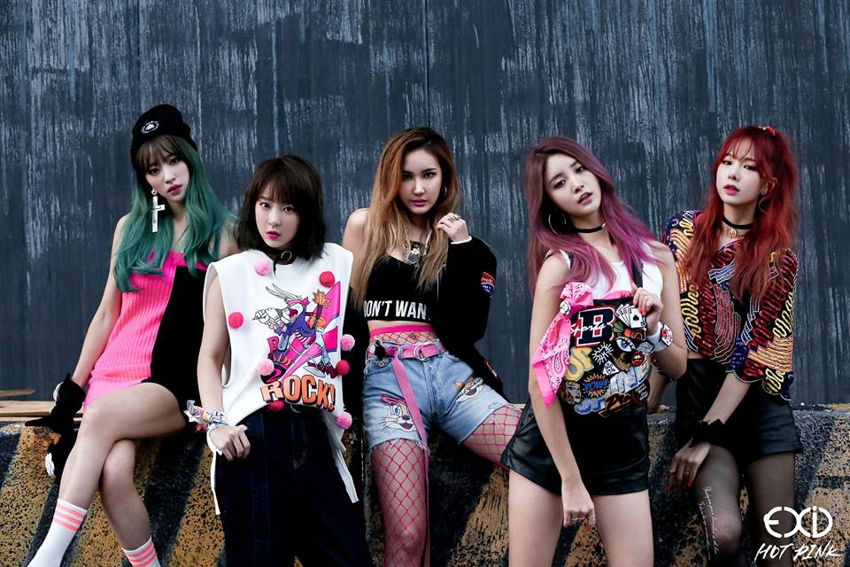 EXID To Make June Comeback With First Studio Album Since Debut