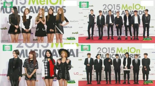2015 Melon Music Awards Bigbang Exo Take Home The Big