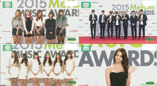 melon music awards red carpet