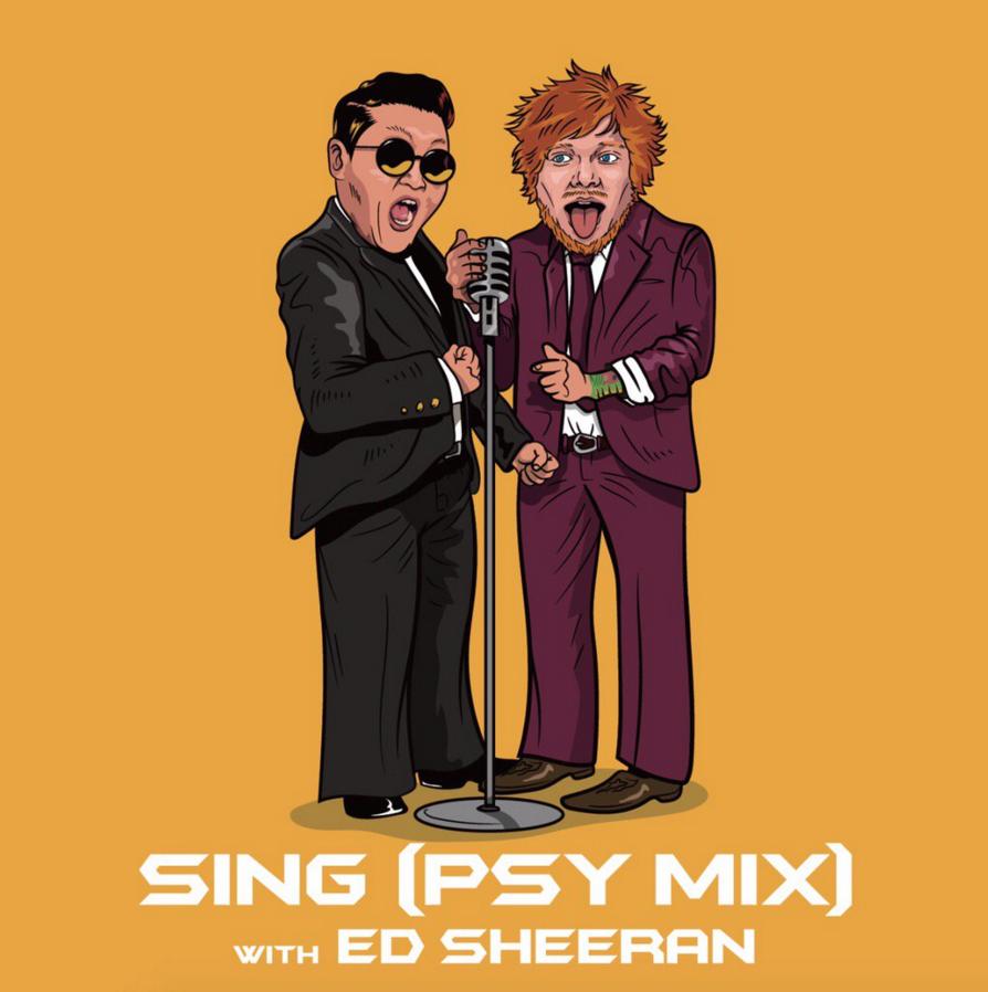 psy feat. ed sheeran